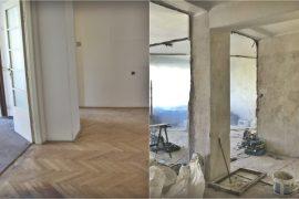 Právě probíhá rekonstrukce bytu